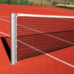 Tennis net Excalibur (polyester, cord thick 2,5 mm)
